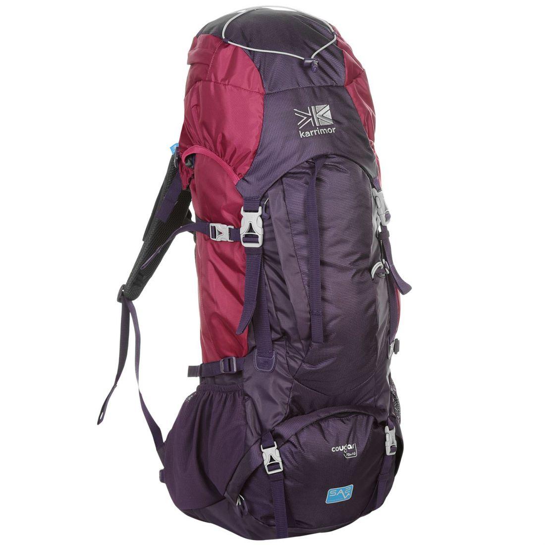 Karrimor Cougar 60+15 Rucksack Ventilated Outdoor Hiking Trekking Bag  Backpack bd88bb8f63b9e