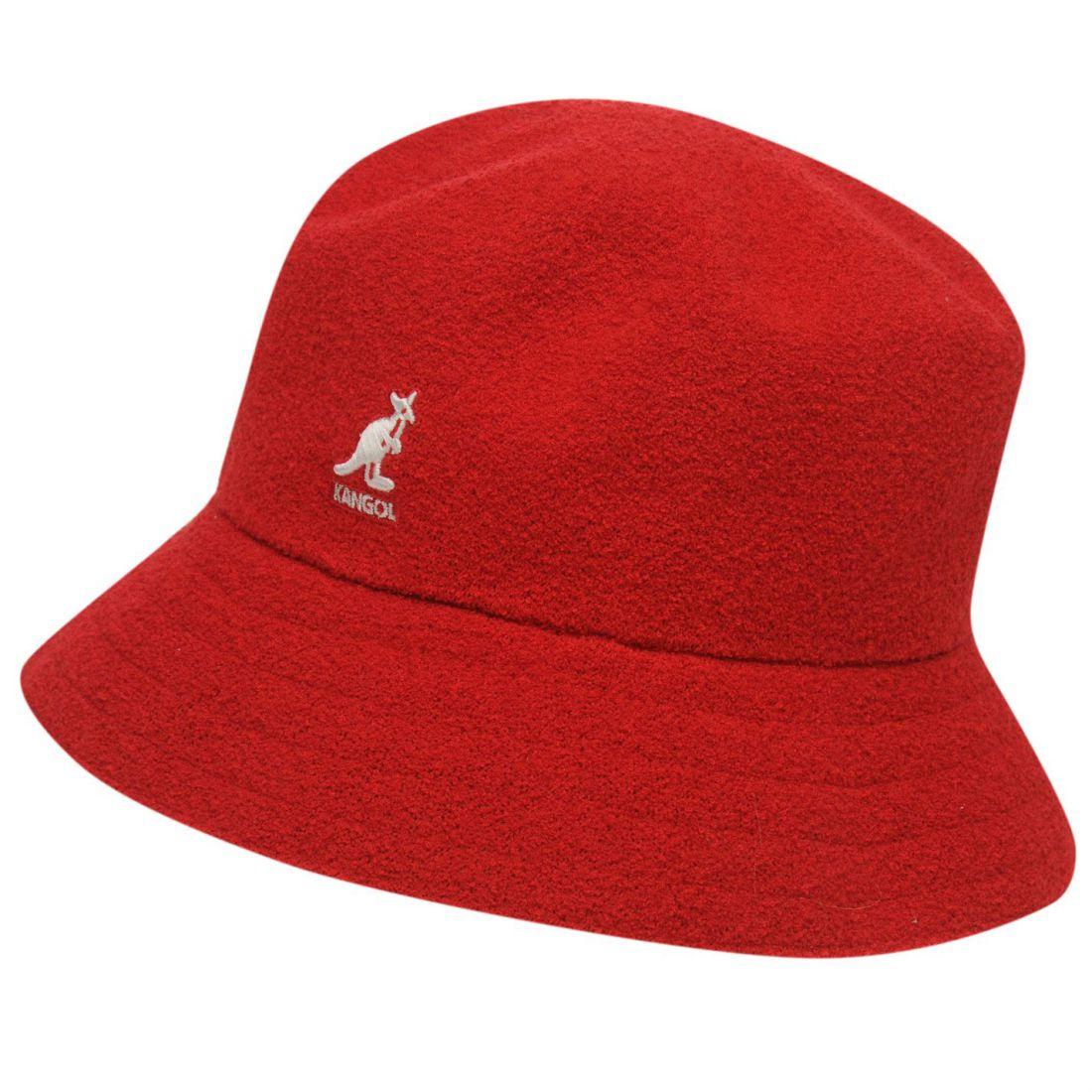 Kangol Boucle Bucket Hat Mens Gents  a2b9cd37284