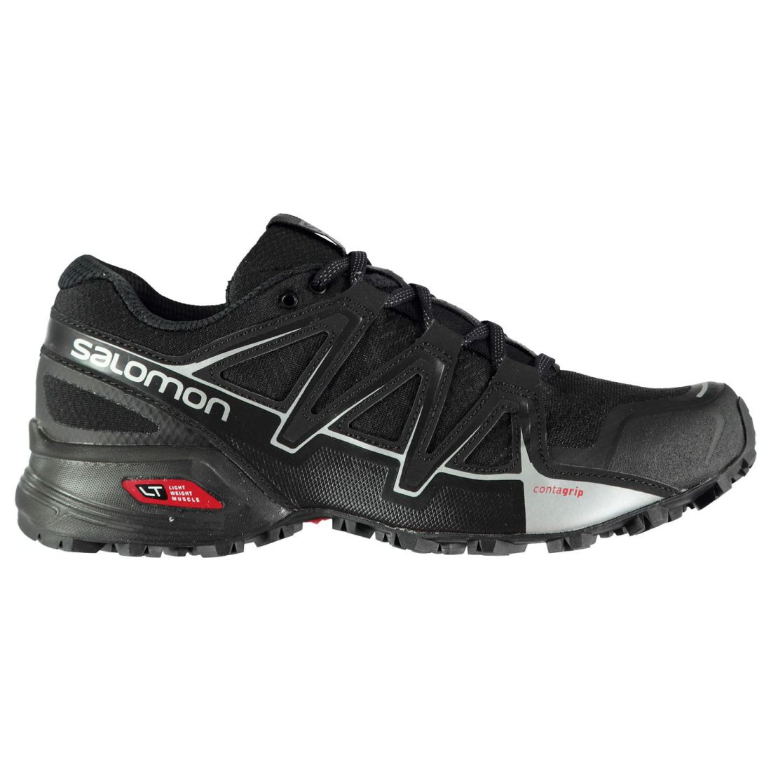 Salomon Speedcross Vario 2 Trail Running shoes Mens Gents Laces Fastened