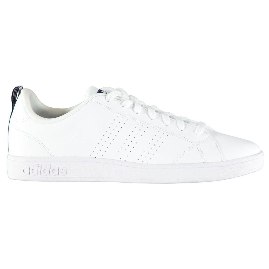 adidas Neo Label Advantage Clean VS Black Mens Casual Shoes Trainers F99253 UK 9