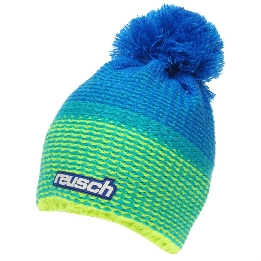 Reusch Enzo Beanie Hat Adults Unisex Warm Knitwear Brightly  db7a5c3ab724