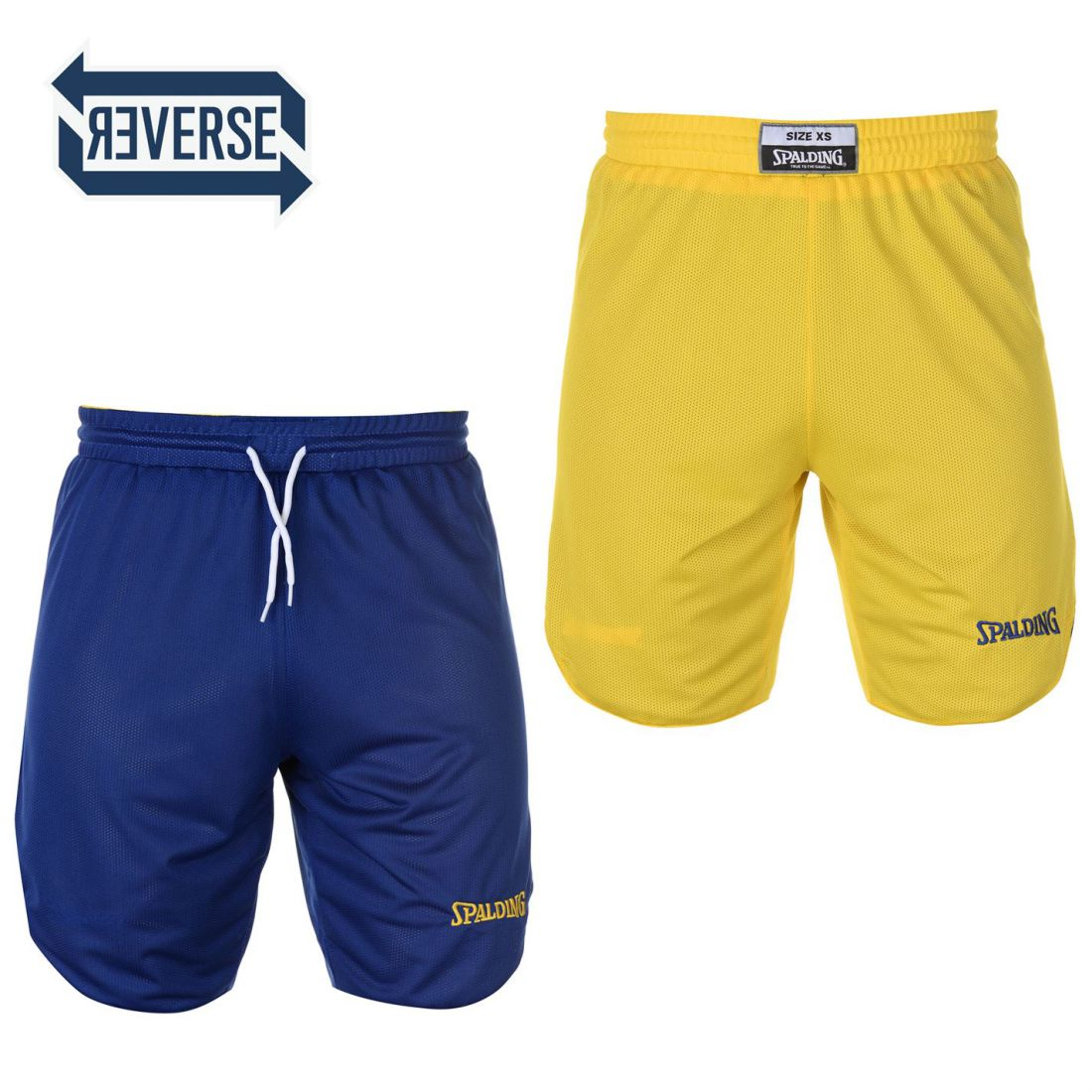 e74213b72b0a Image is loading Spalding-Mens-Reversible-Basketball -Shorts-Pants-Trousers-Bottoms-