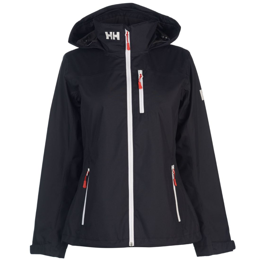 release date Super discount another chance Details about Helly Hansen Womens Crew Hooded Mid Jacket Waterproof Coat  Top Zip Full Warm