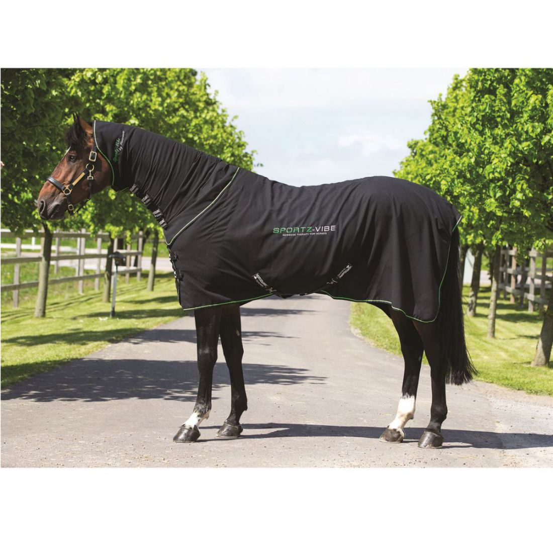 Details About Horseware Uni Vibe Horse Mage Rug Lightweight Warm Sport Horses Muscles