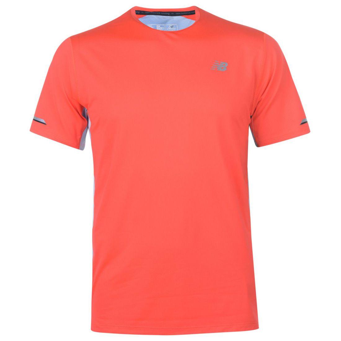 b7e258458bae9 Details about New Balance Mens Ice Running Tee Short Sleeve Performance  Shirt Crew Neck Quick