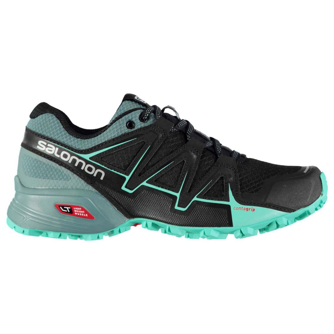3978c0abbbe6 Salomon Speedcross Vario 2 Trail Running Shoes Ladies Laces Fastened ...