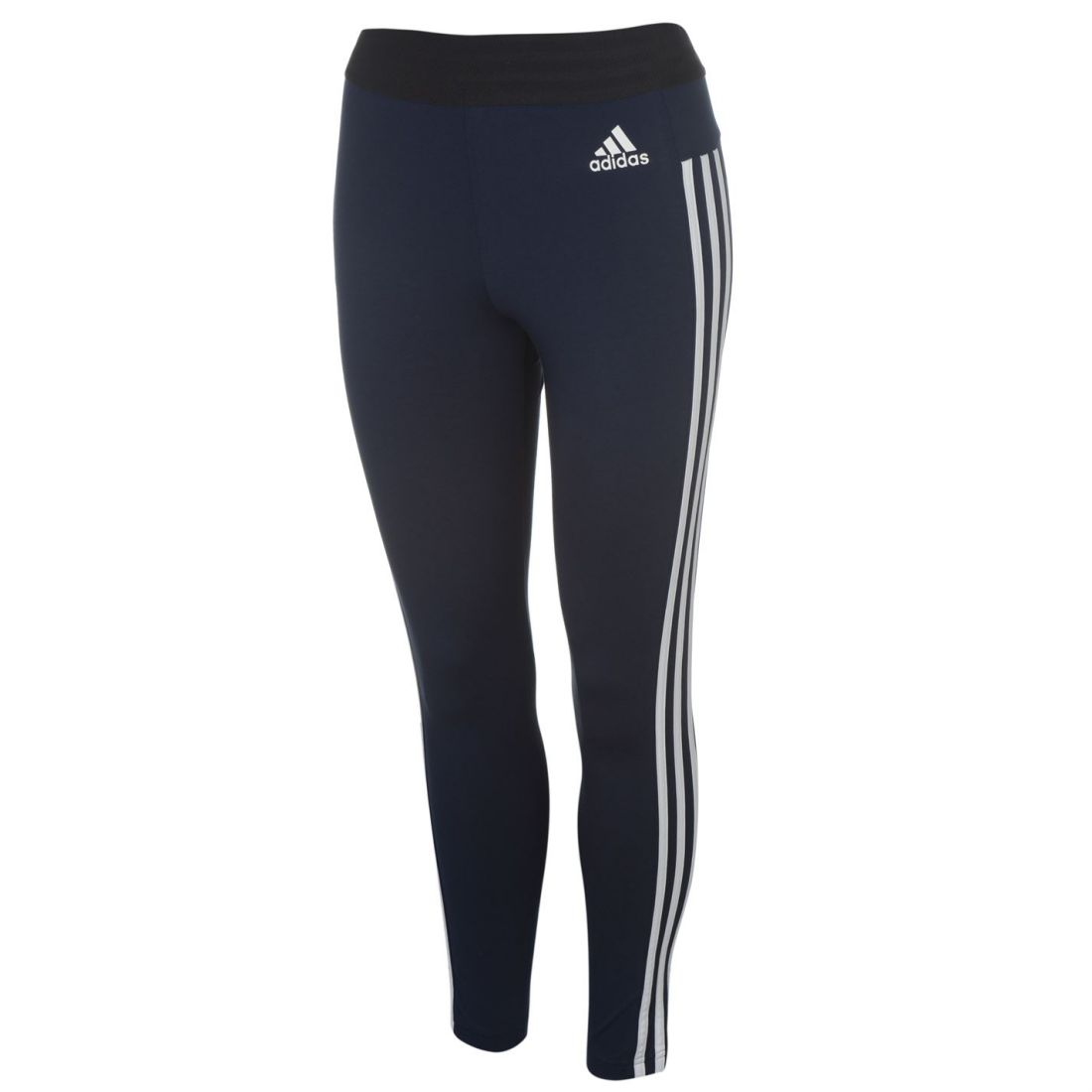 1f699c9d9b2 adidas Womens Ess 3S Tights Sports Elastic Pants Training Bottoms. adidas  Essential 3 Stripe ...