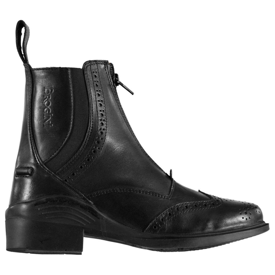 Brogini Ladies Epsom Jodhpur Stiefel Horses Training Footwear