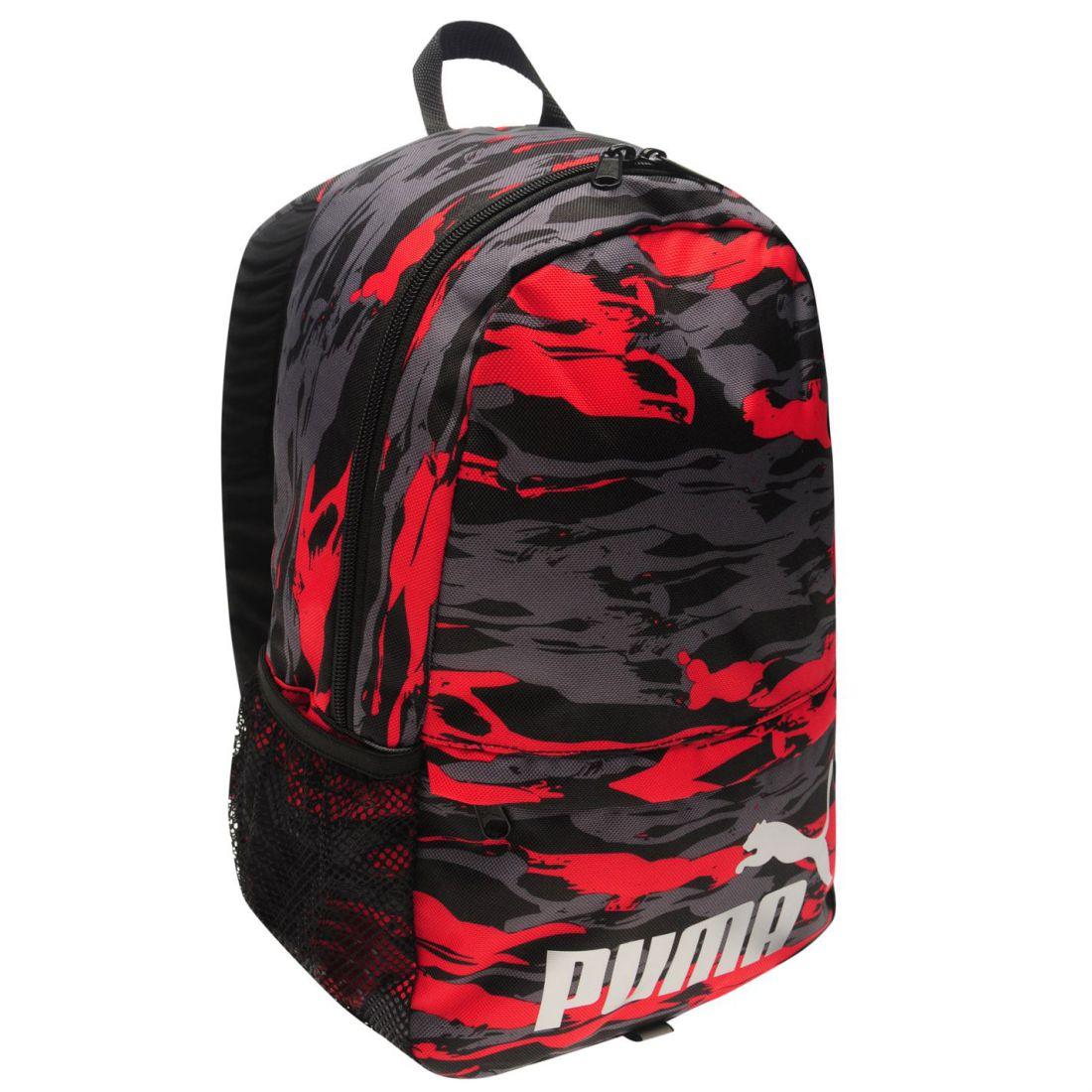 80ae053210195 Puma Mini Backpack Unisex Back Pack Zip Mesh Stamp 2 2 sur 3 ...