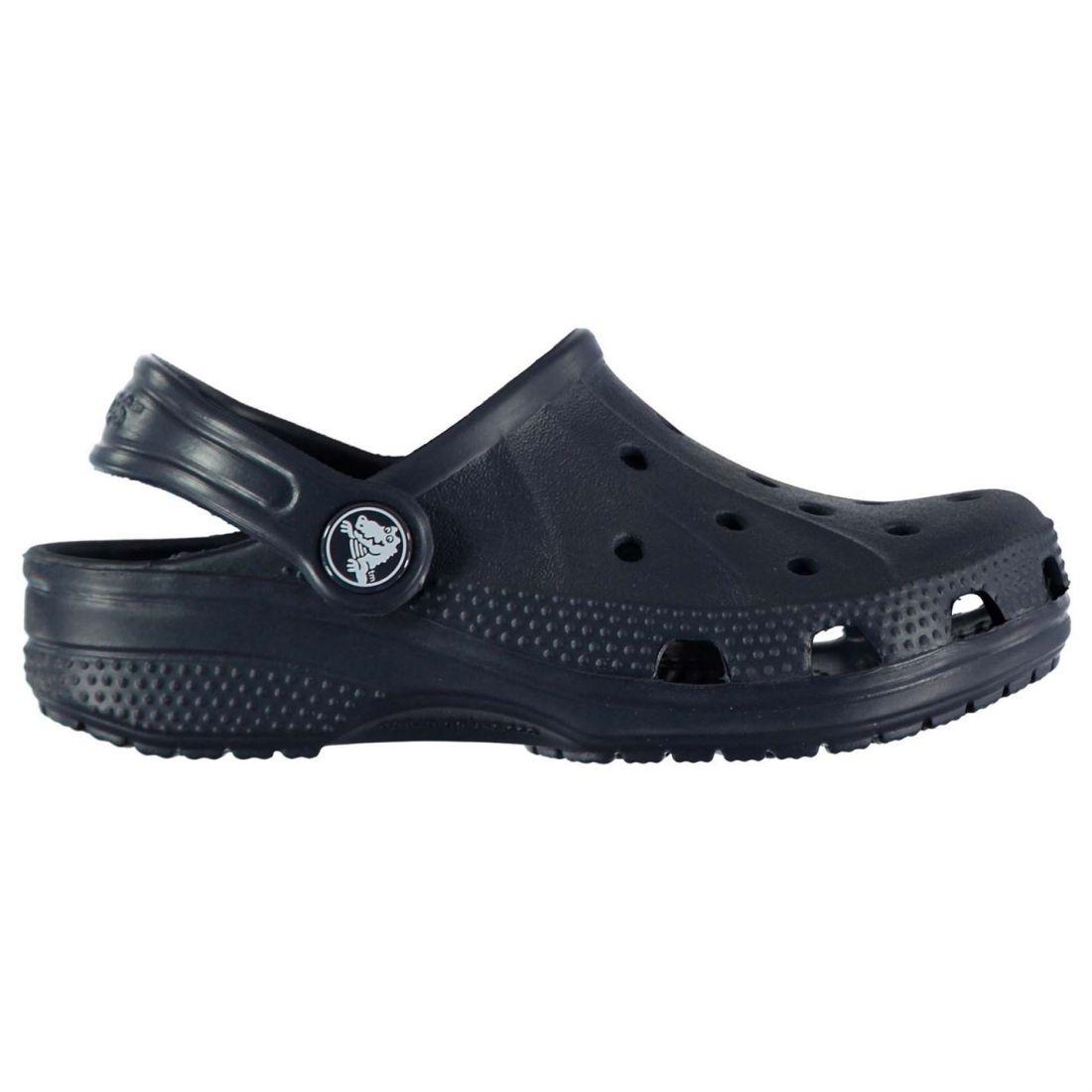 7030494c4 Details about Crocs Kids Ralen Clogs Shoes Mules Slippers Sandals Unisex  Slip On Leather