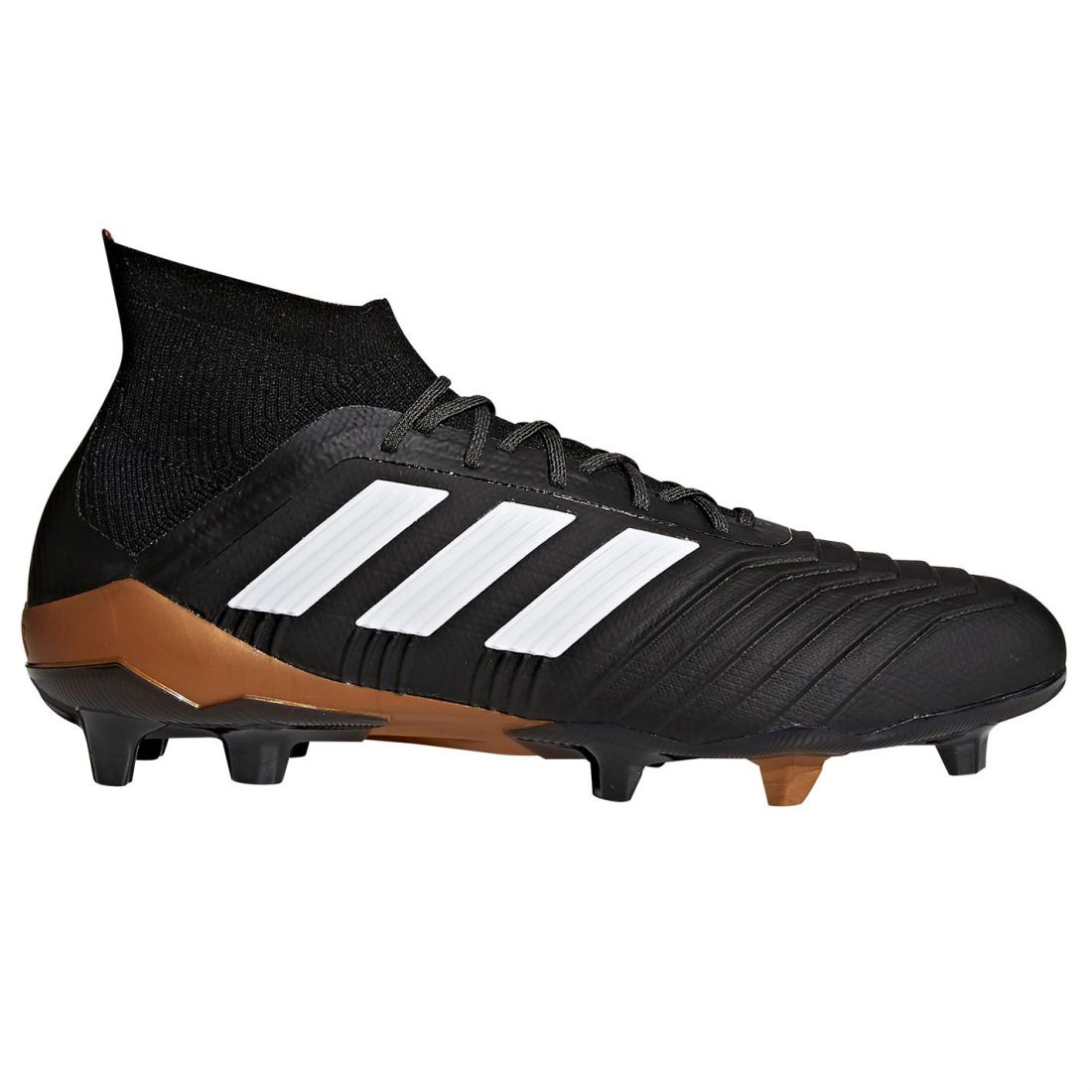 save off 2b4de f24d5 Image is loading adidas-Mens-Predator-18-1-FG-Football-Boots-