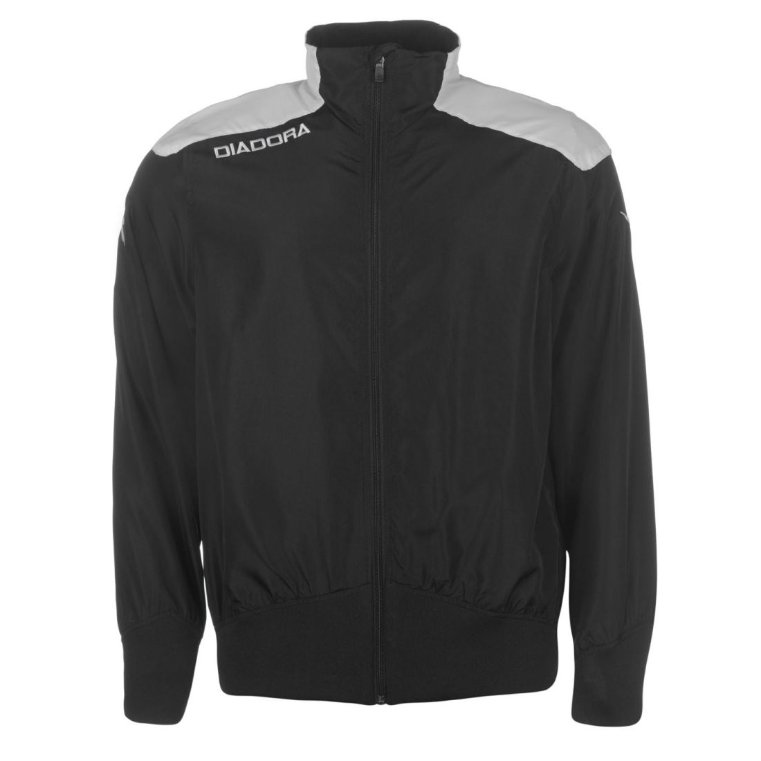 e22e4e3e45 Details about Diadora Mens Minnesote Jacket Baseball Coat Top Long Sleeve  Zip Full Mesh Sports