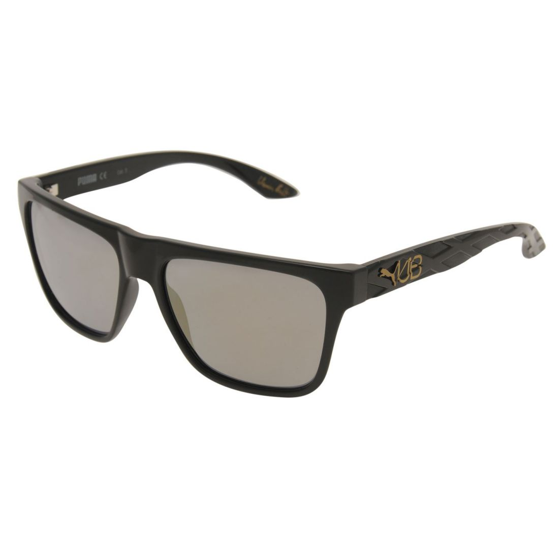 768185540a Details about Puma Unisex Usain Bolt Sunglasses Running Rectangular Square