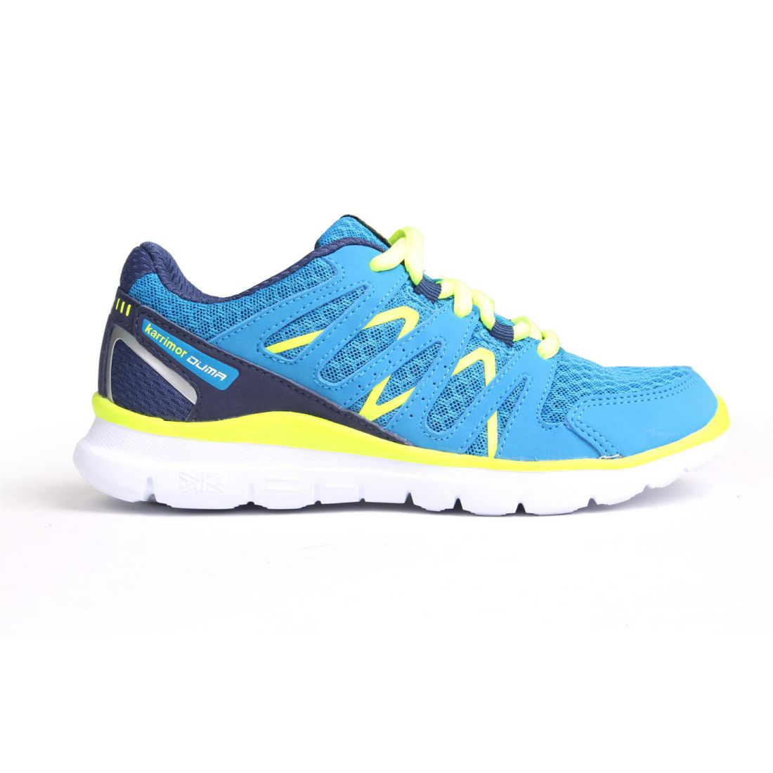 498fca8a5cd89 Karrimor Childrens Duma Running Trainers Boys Shoes Sports Mesh Footwear  Blue/navy UK 2 (34)
