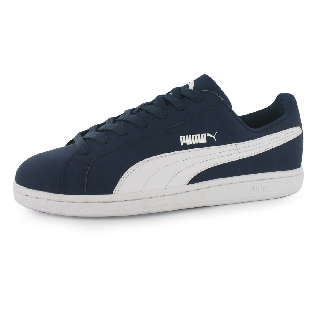 15c4e5c01d5f Puma Mens Smash Nubuck Trainers Sneakers Casual Sport Shoes Lace Up Gripped