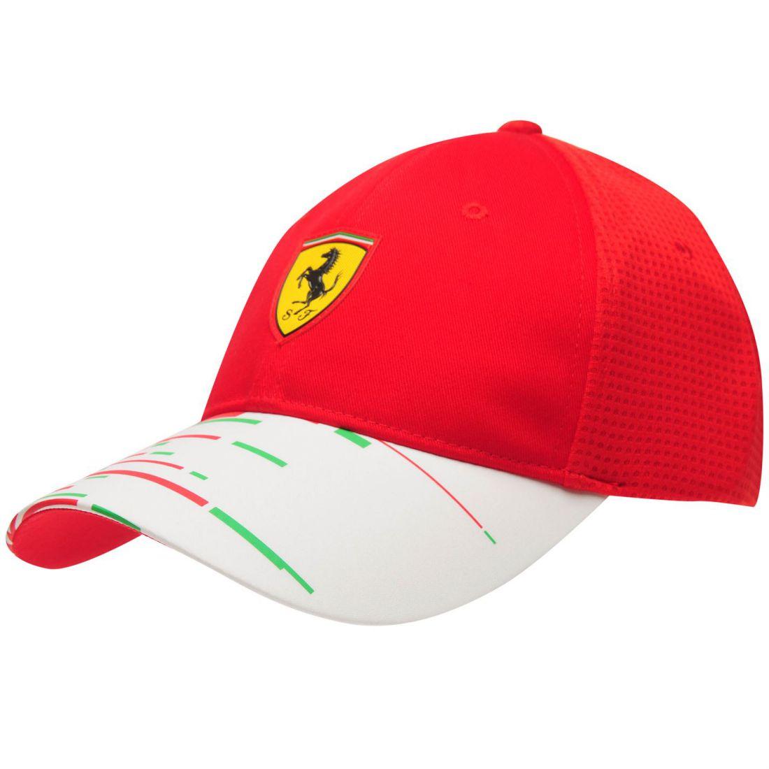 874225aa26c Puma Mens Scuderia Ferrari Team Cap Baseball Cotton Mesh Breathability