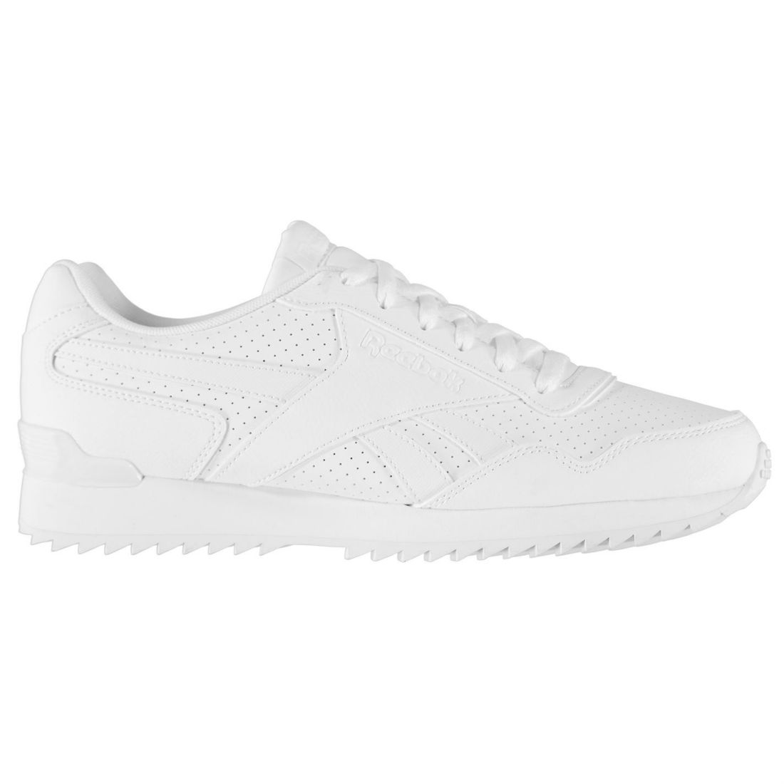 9ecf43a8b10ad Reebok Royal Glide Ripple Clip Sneakers Mens Gents Runners Laces ...