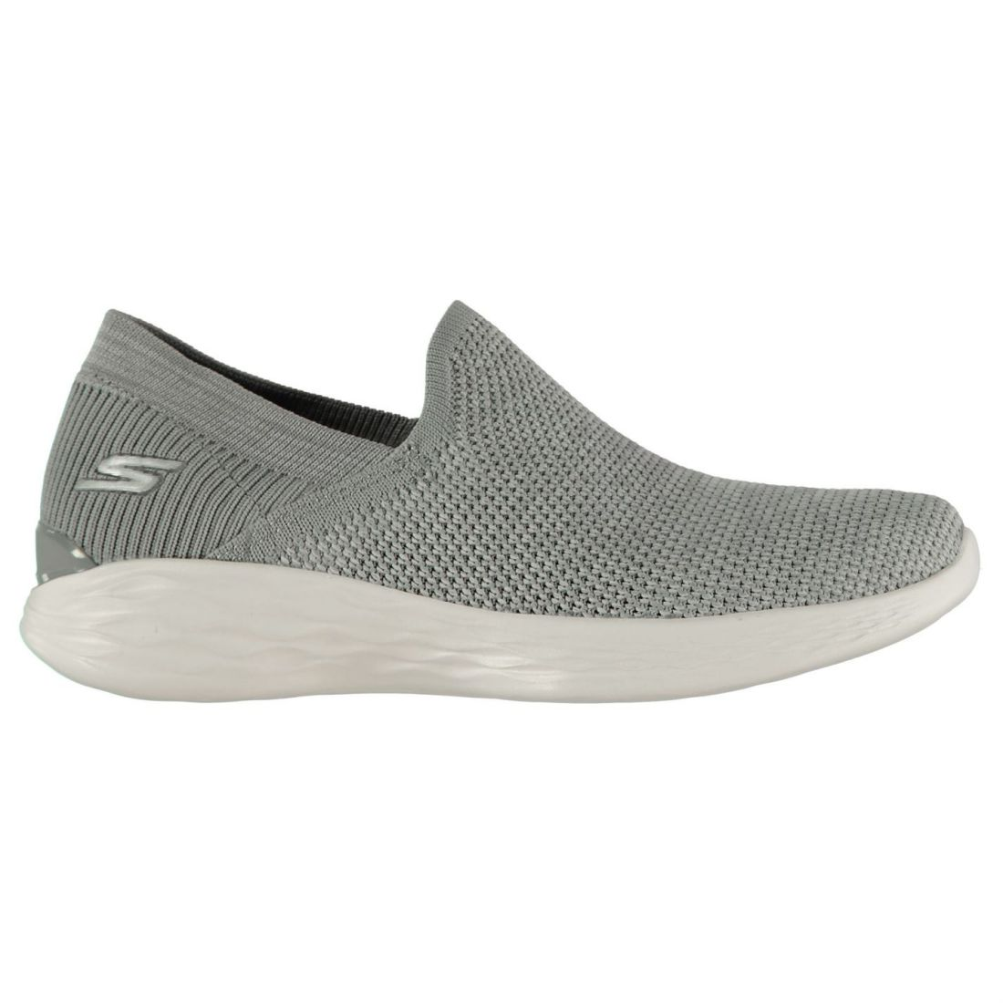 Skechers Womens YOU Rise Slip On shoes Trainers Knit Knitted Textured