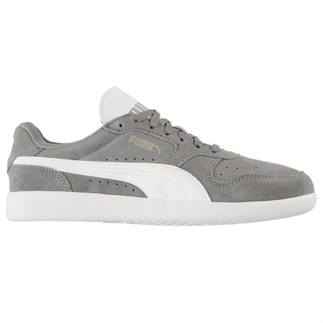 Puma Mens Icra Suede Trainers Lace Up Padded Ankle Collar Everyday ... 9ea45d81e