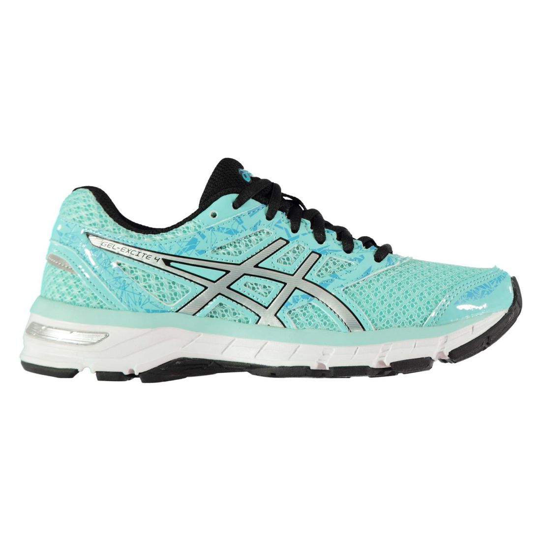 Asics Gel Excite 4 Running Trainers Road Shoes Womens  b49b2c68f35a8