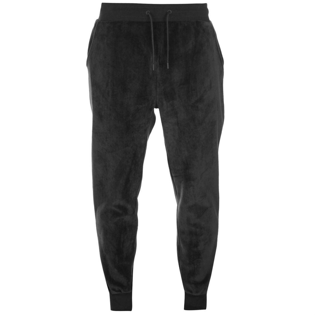 02f9c26ad512 Image is loading Fabric-Velvet-Sweatpants-Mens-Gents-Fleece-Jogging-Bottoms-
