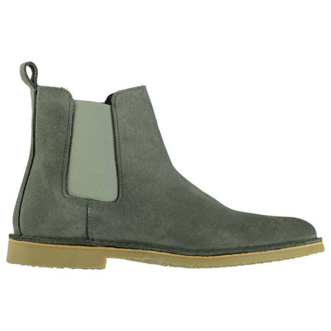 b096201b9842 Firetrap Mens Gents Francis Chelsea Boots Stretchy Panels Shoes ...