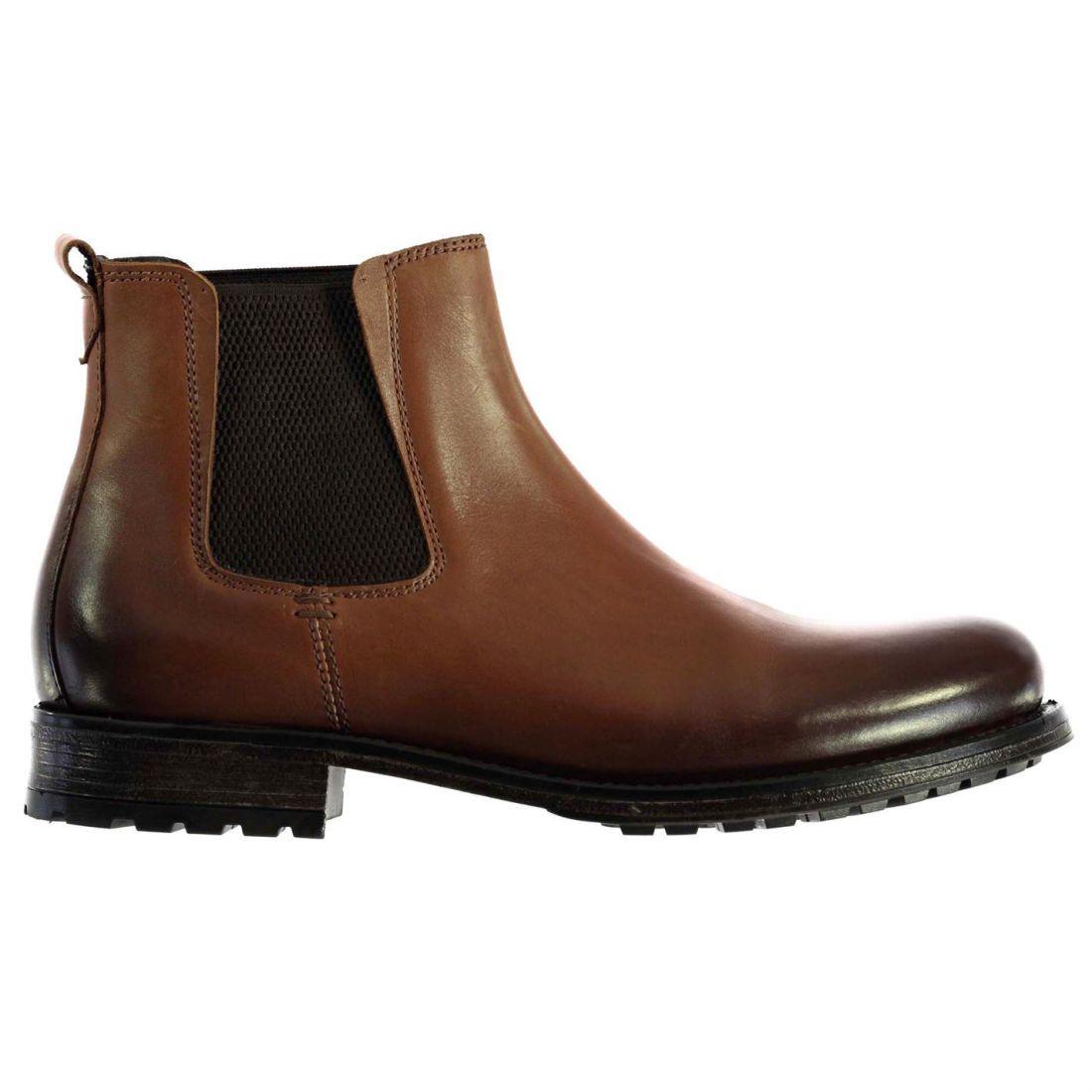Calzado Hex Firetrap Mens Zapatos Gents Tan Chelsea Boots 76Fx1qY