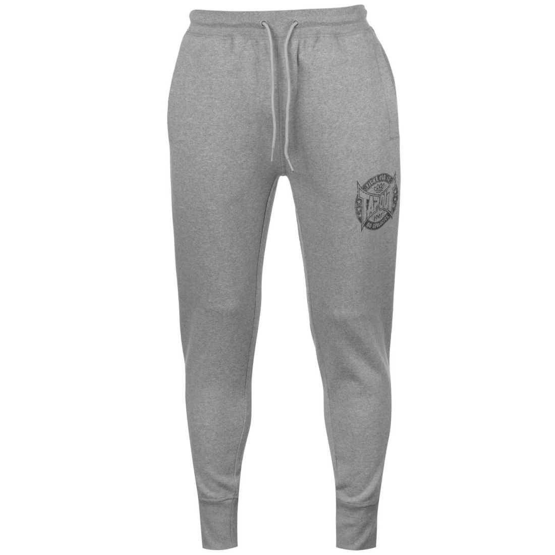 Size L G Dark Grey New Tapout Tracksuit Bottoms