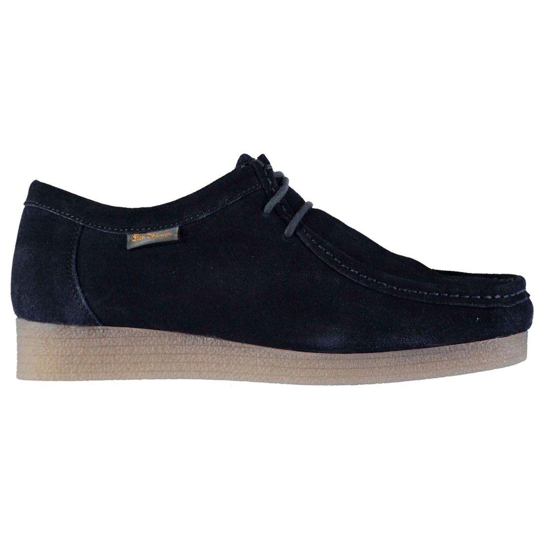 055cbc897c Ben Sherman Quad Wallabee Shoes Moc Toe Mens