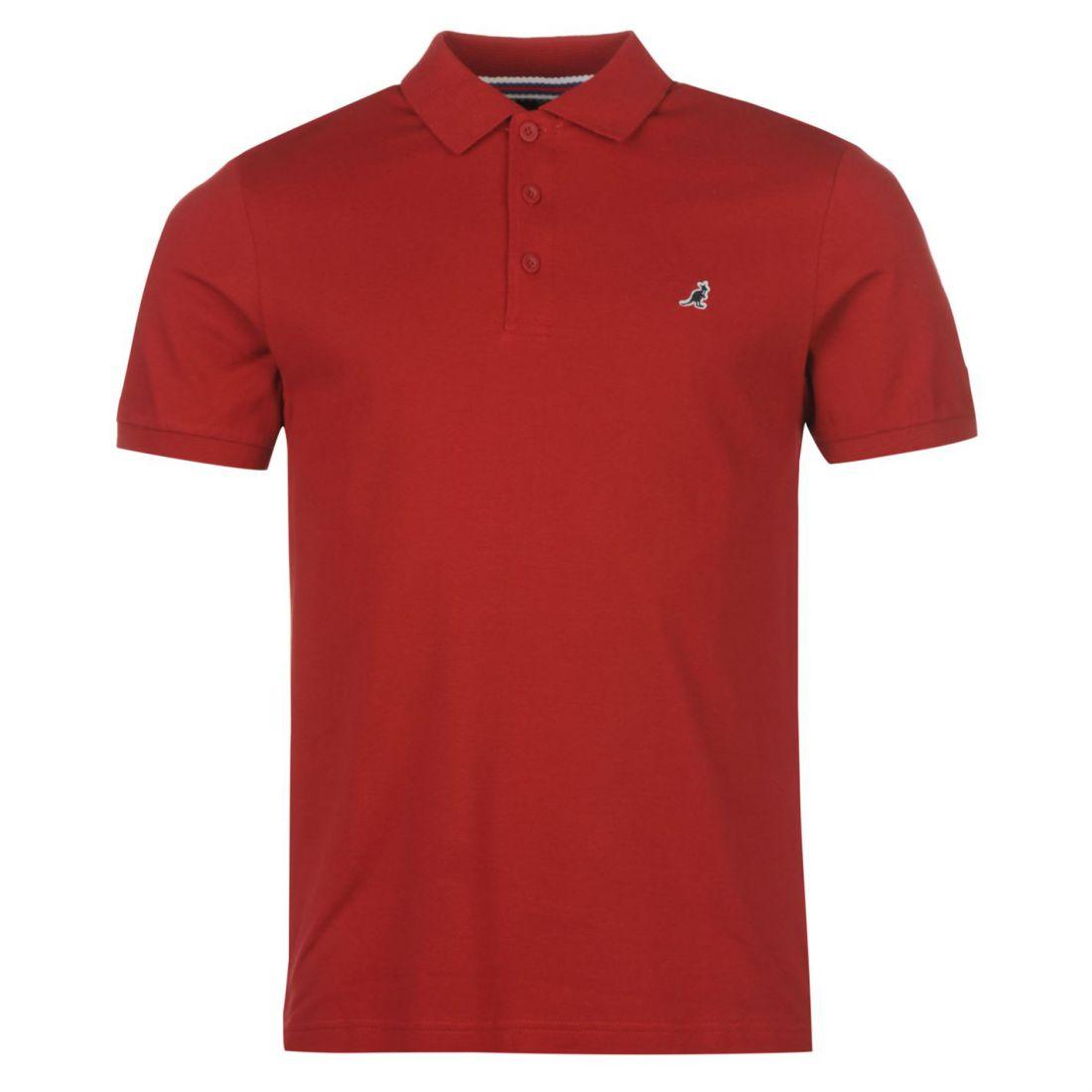 1da813e9587e Kangol Mens Brit Fit Polo T Shirt Tee Top Short Sleeve Classic ...