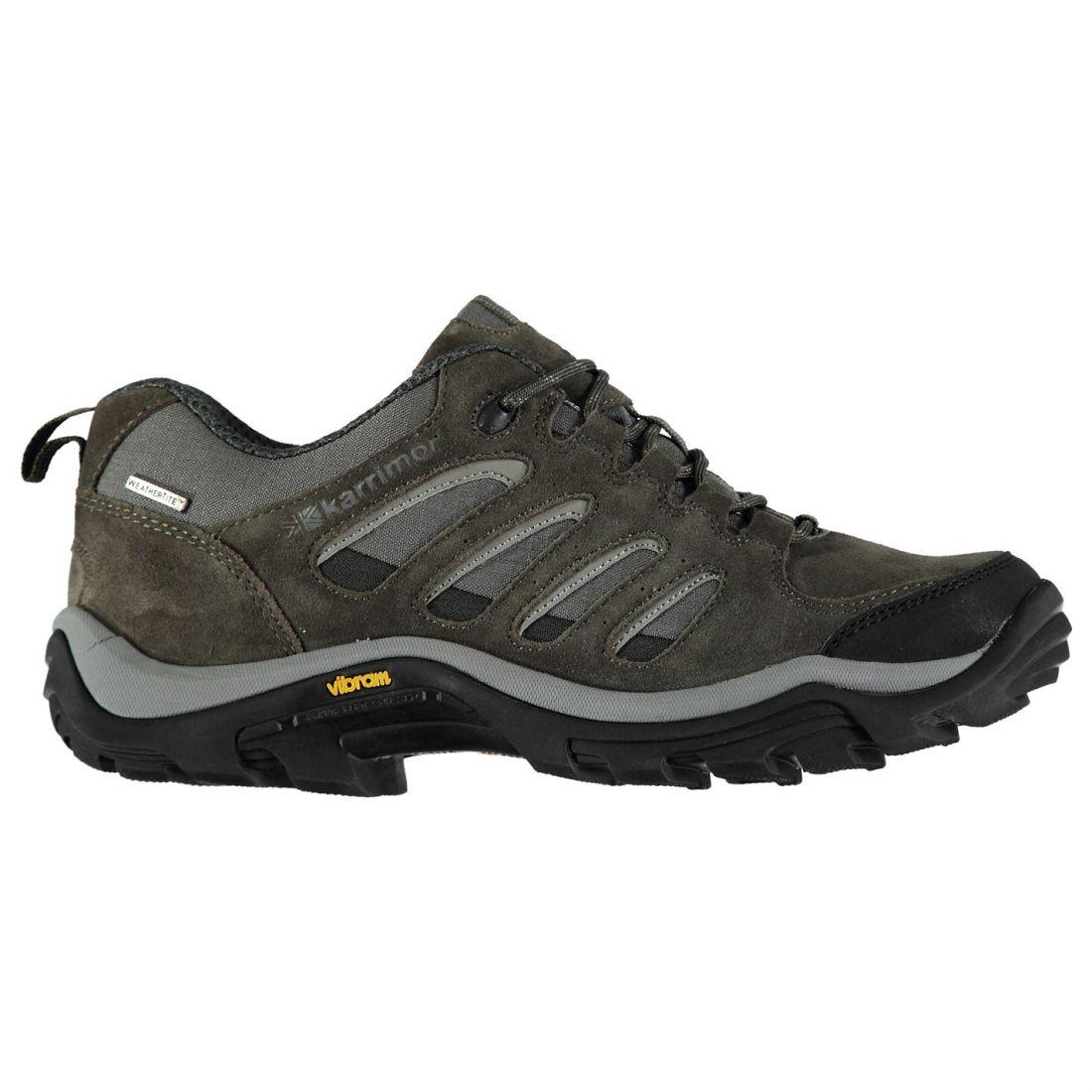 Karrimor Aspen Low Waterproof Suede Upper Hiking Walking shoes Lace Up Mens