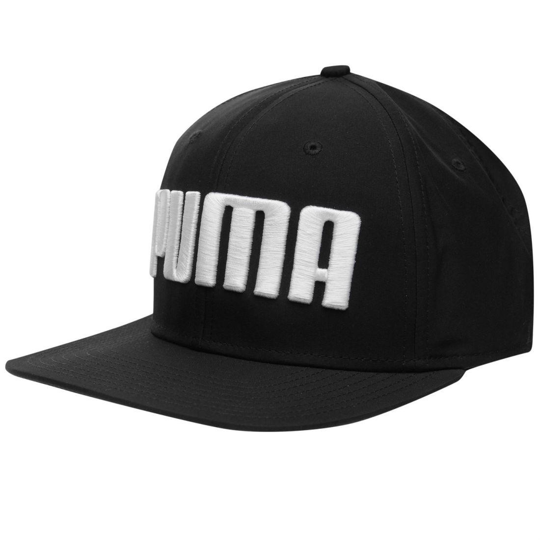 Image is loading Puma-Mens-Flat-Brim-Cap-Peak-Snapback 578896feb1b1
