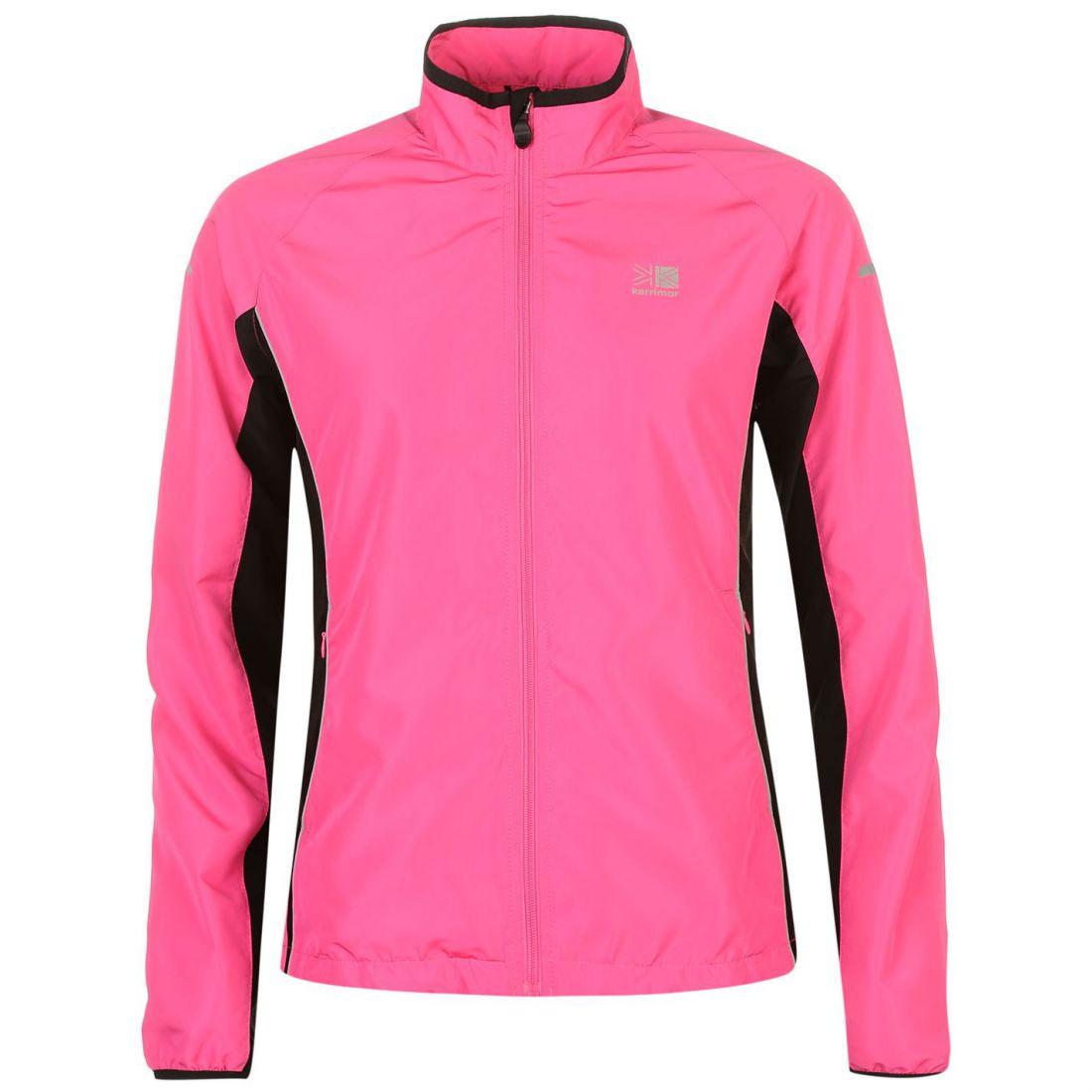 086aed593655 Karrimor Womens Ladies Running Jacket Long Sleeve Zip Fastening Coat ...