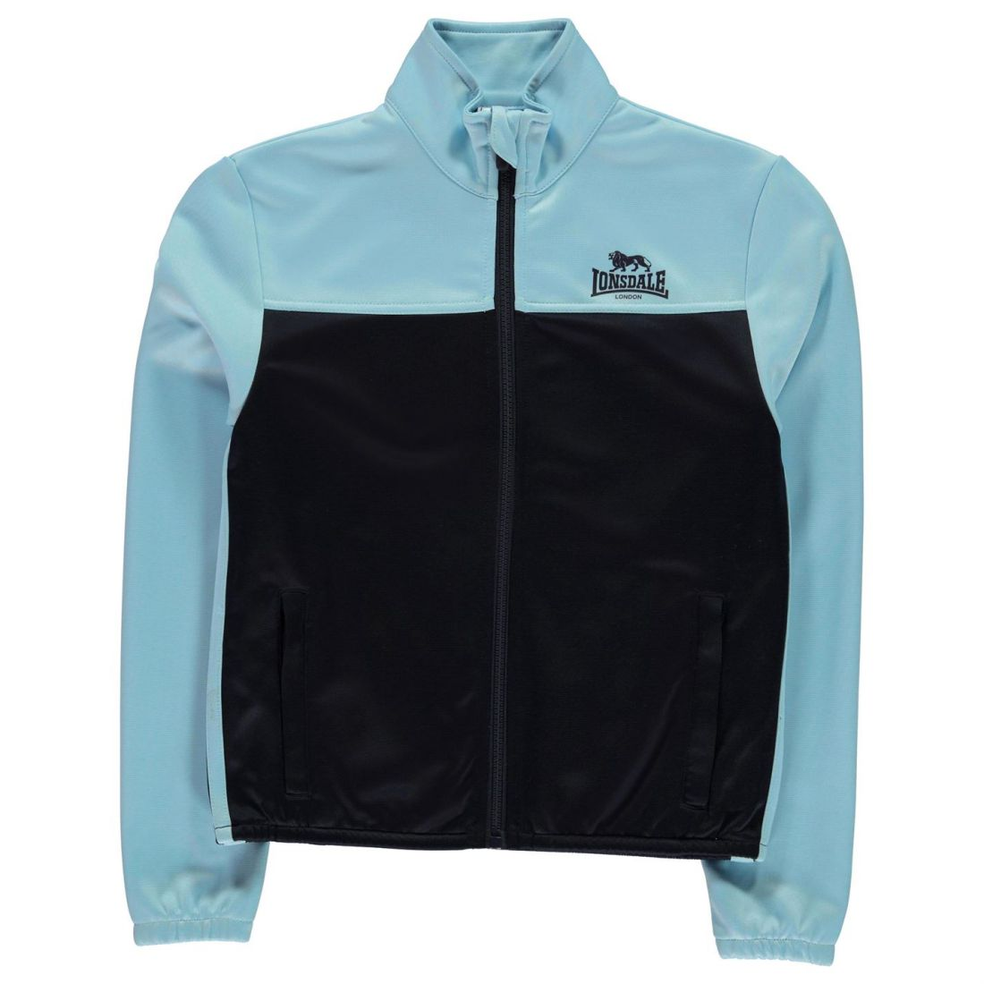 This Lonsdale 2 Stripe Track Jacket is a sporty alternative for casual every  day wear. 6f90d7fb42