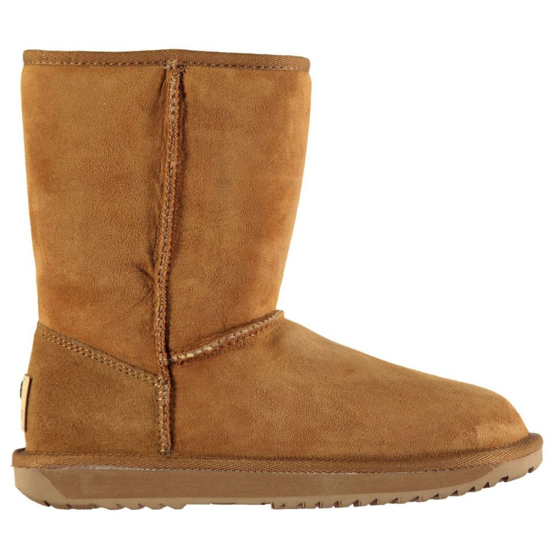 Firetrap Womens Coven Snug Boots Slip On Faux Fur Suede Winter Textured