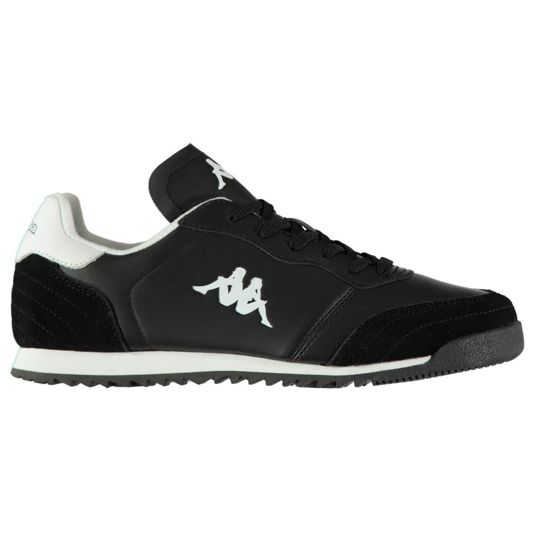 Kappa-Denser-DLX-Sneakers-Mens-Gents-Low-Laces-Fastened-Padded-Ankle-Collar miniatuur 2