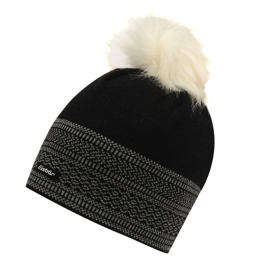 fdf7a0b2 Image is loading Eisbar-Merit-Beanie-Ladies-Stretch-Faux-Fur