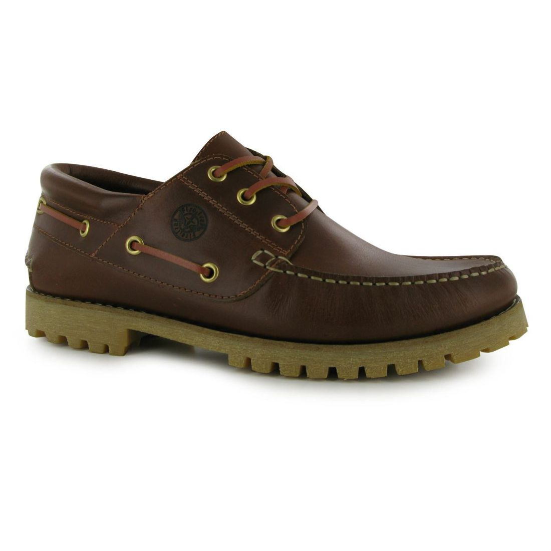 Firetrap Mens Gents Jose Boat shoes Laces Fastened Footwear