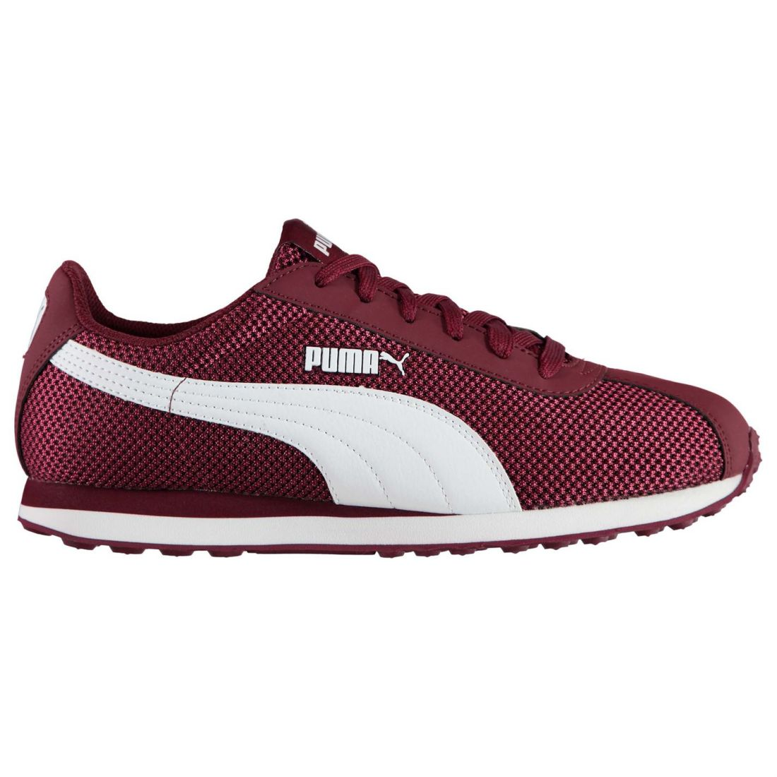 lowest price 6b139 3c5a8 Puma Mens Gents Turin Mesh Trainers Shoes Laces Fastened Footwear