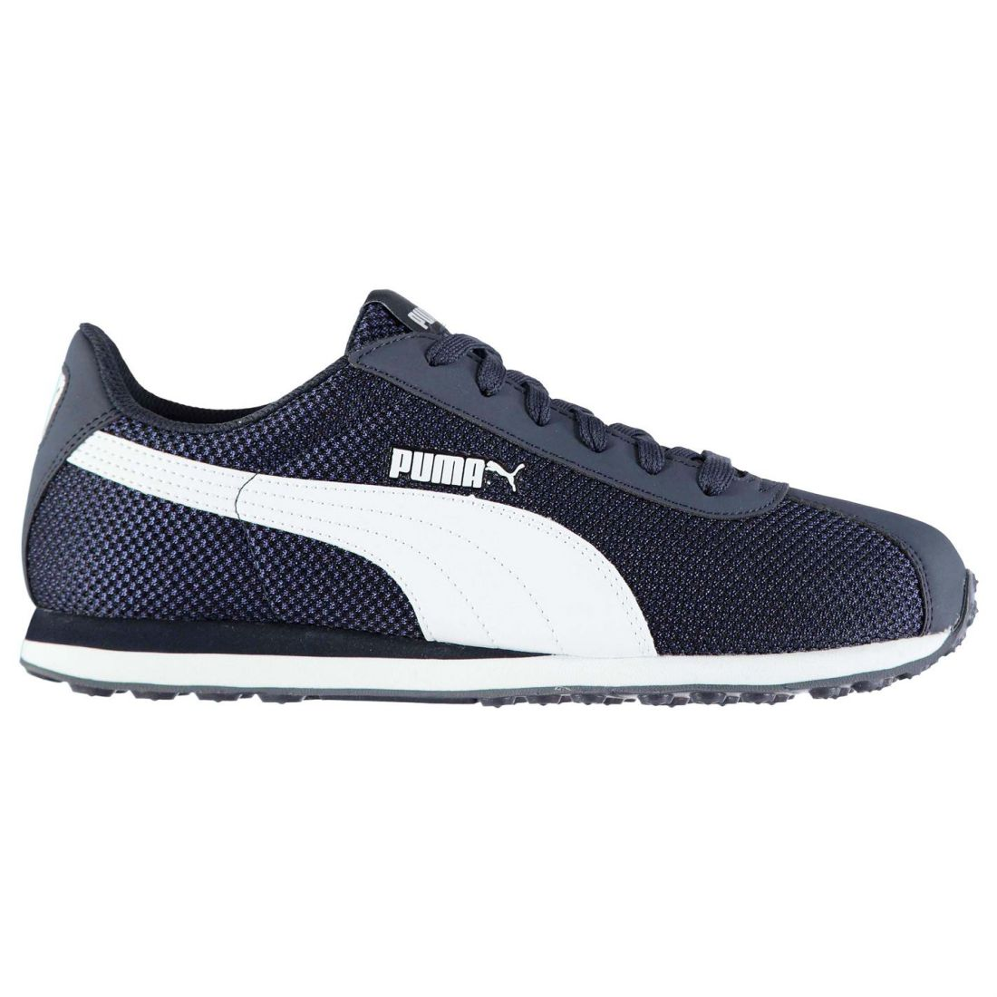 Puma-Mens-Gents-Turin-Mesh-Trainers-Shoes-Laces-Fastened-Footwear thumbnail 2