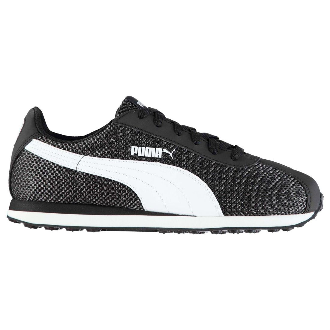Puma-Mens-Gents-Turin-Mesh-Trainers-Shoes-Laces-Fastened-Footwear thumbnail 3