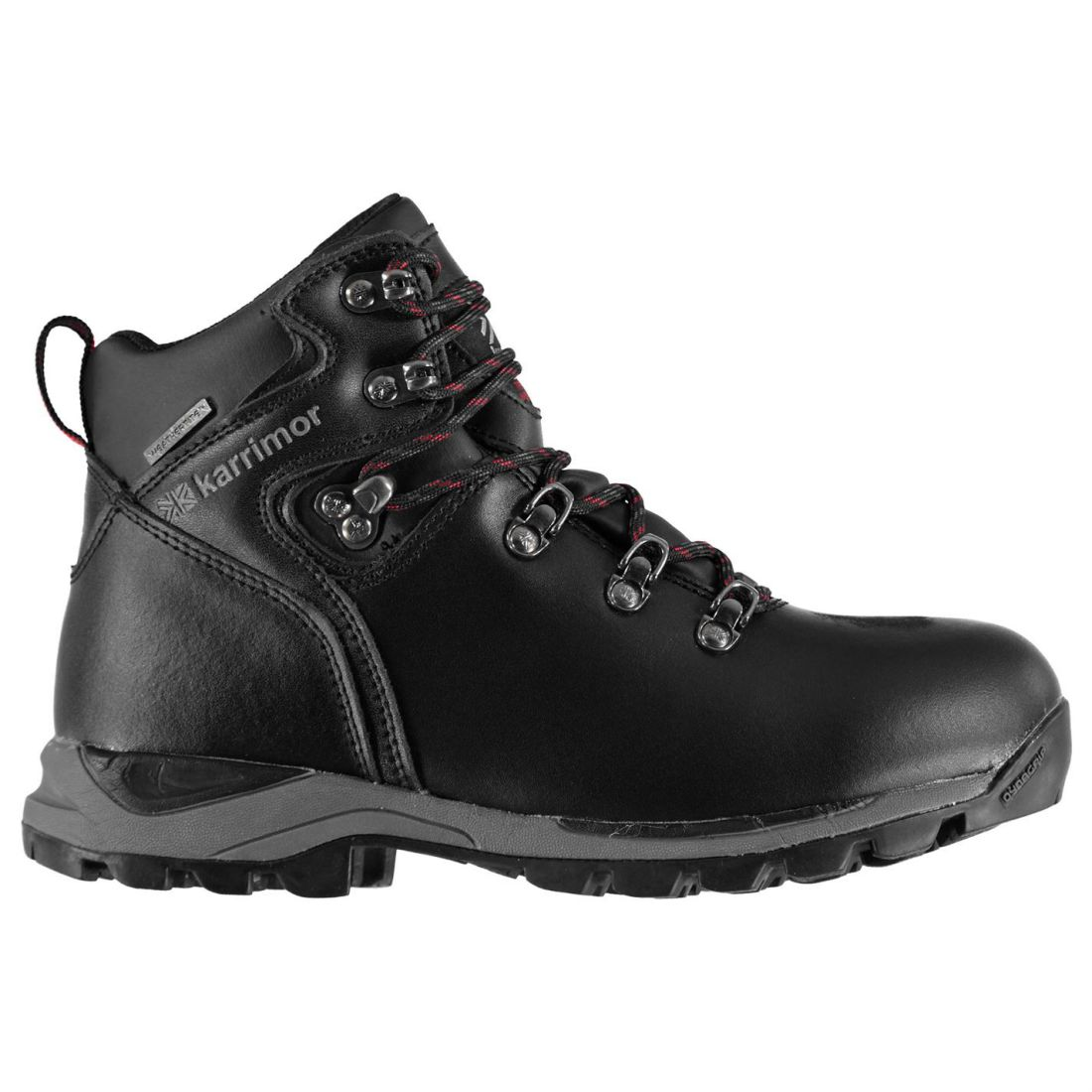 8126a5d60ef Details about Karrimor Skido Walking Waterproof Hiking Boots Lace Up Junior  Childrens