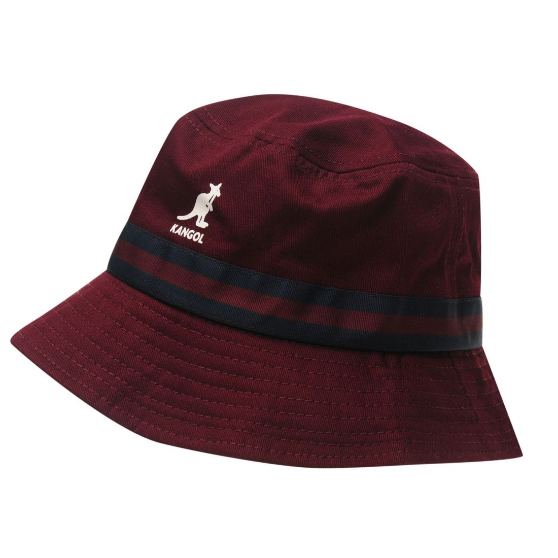 7fa72697c4890 Kangol Mens Stripe Bucket Hat Cotton