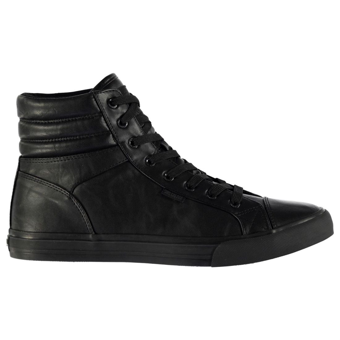 4e1af072ea SoulCal Mens Asti Hi Tops Trainers Lace Up Shoes Smooth Toe Cap ...