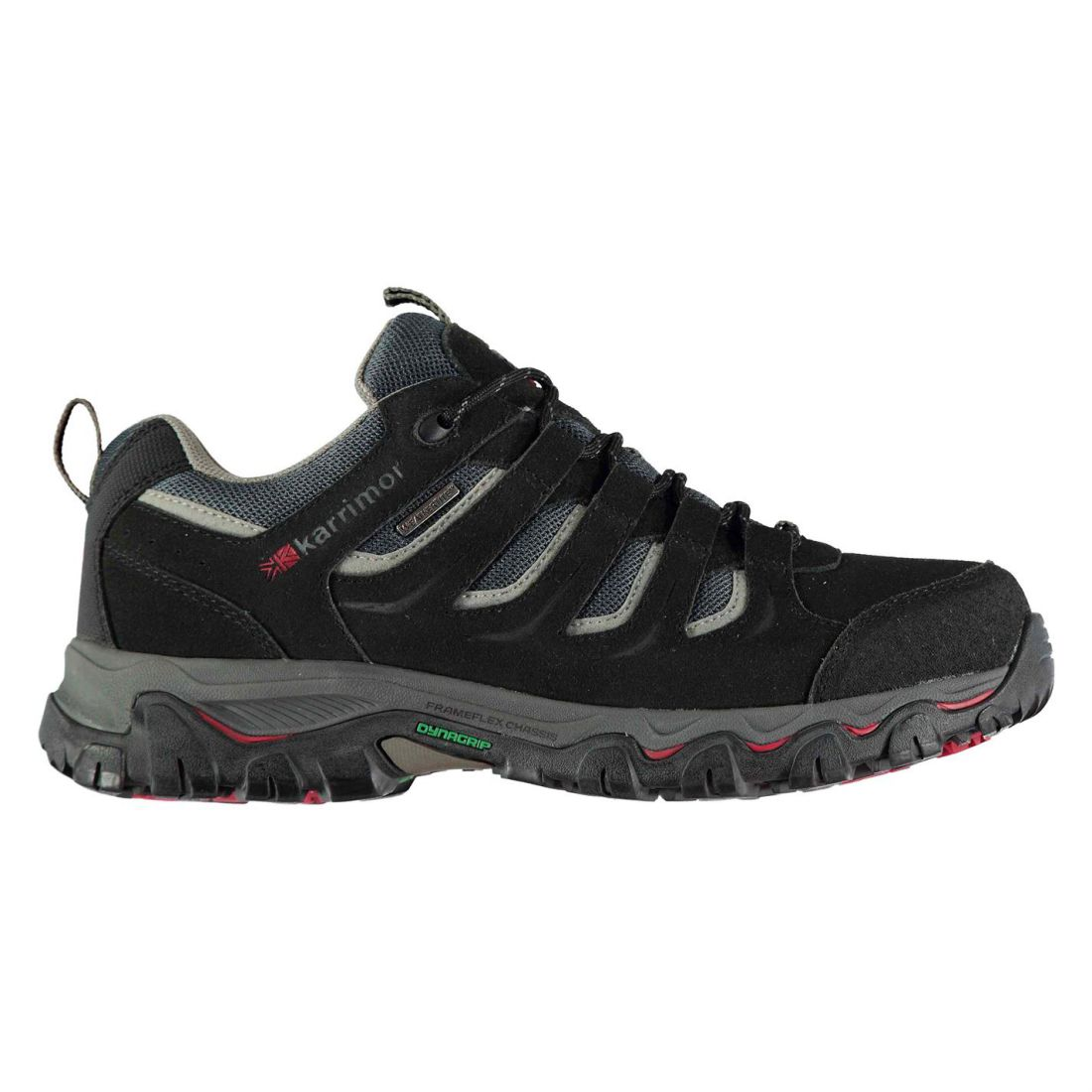 Karrimor Mount Low Treking Hiking Weathertite Walking shoes Lace Up  Gents Mens  novelty items