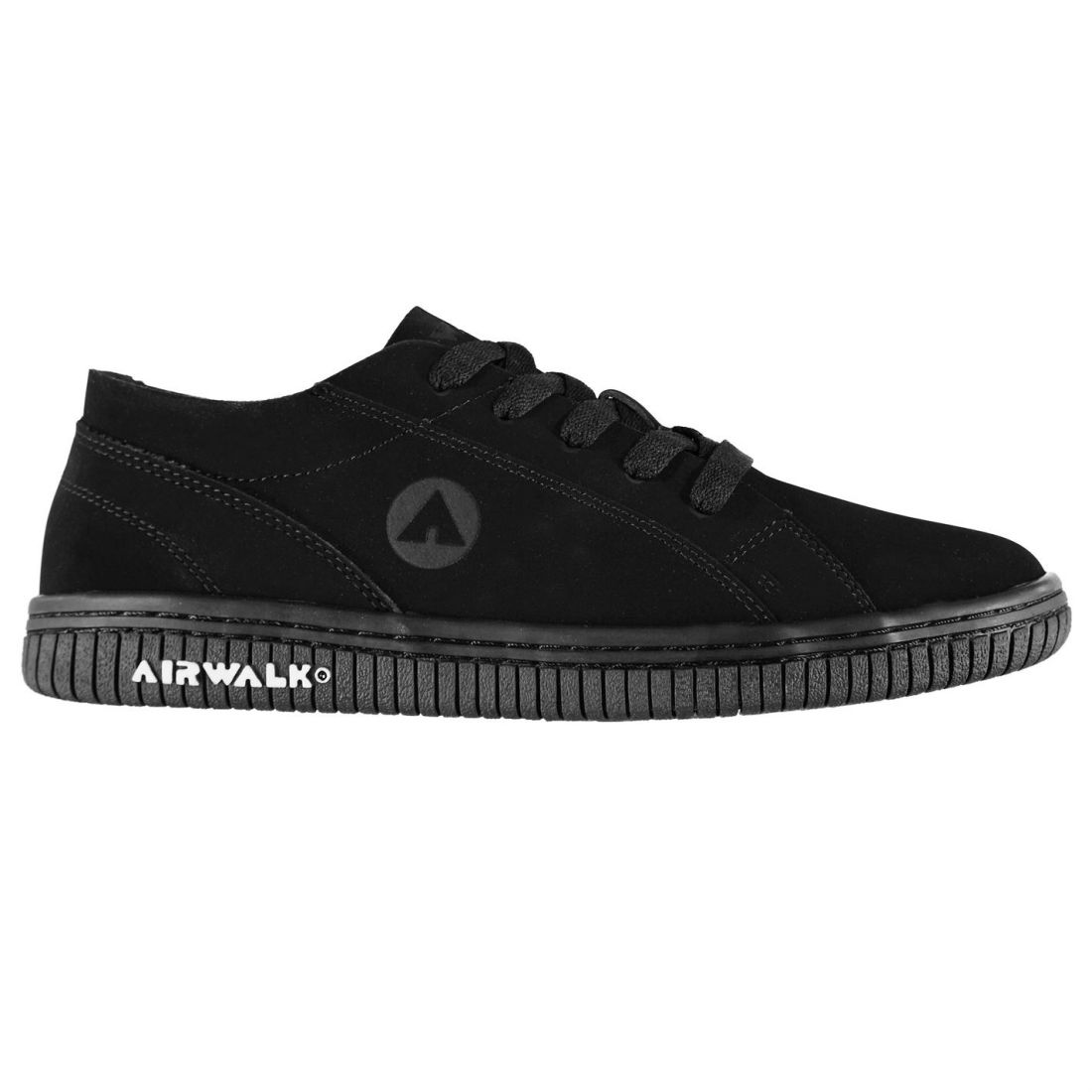 new arrival e8b56 8cdc7 Image is loading Airwalk-Mens-The-One-Trainers-Low-Lace-Up-
