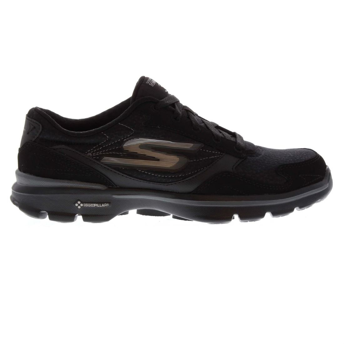 4bb4bfed6d4c Image is loading Womens-Skechers-Go-Walk-3-Trainers-Low-Lace-