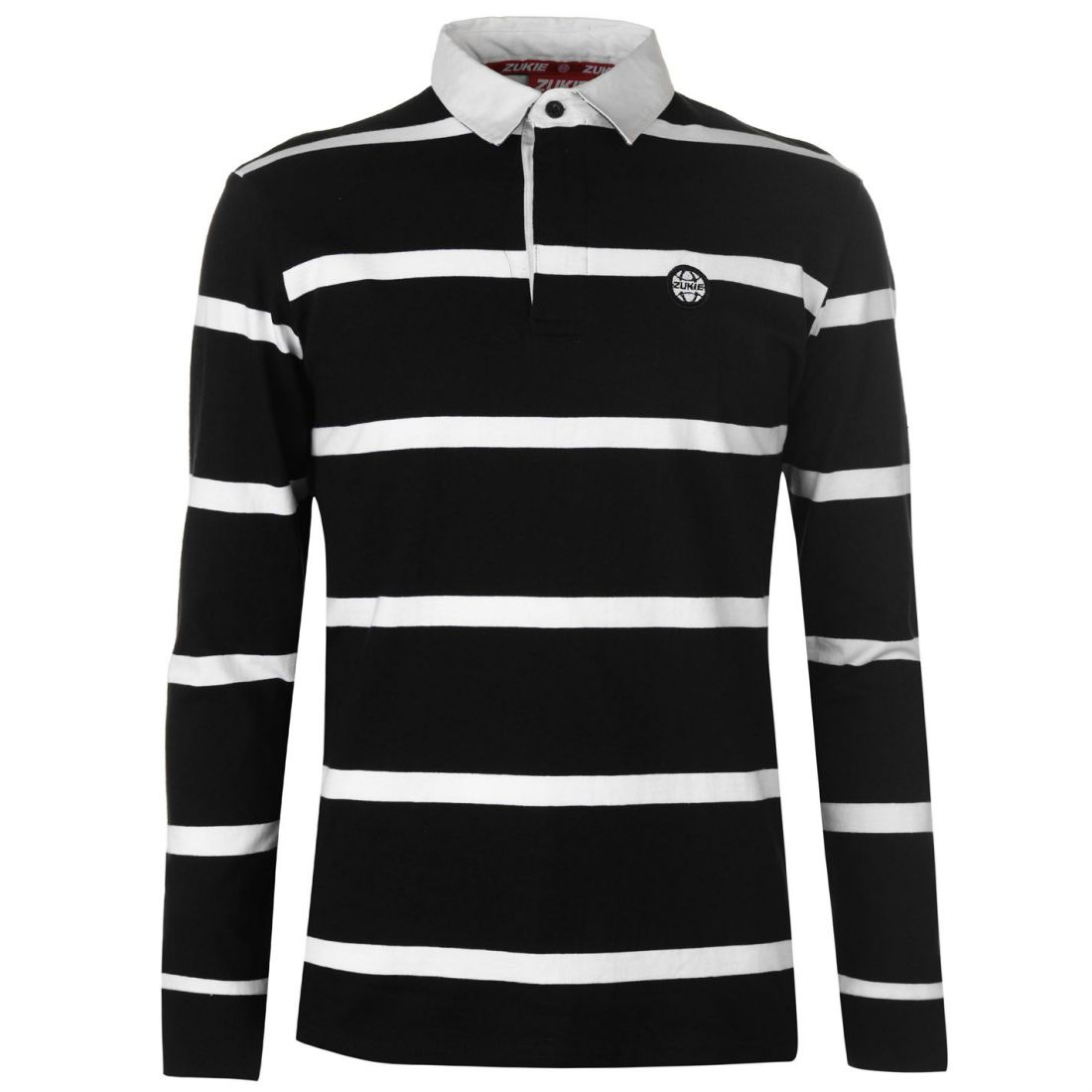 Clothing, Shoes & Accessories Industrious Zukie Rugby Shirt Mens Gents Polo Tee Top Full Length Sleeve Cotton Button To Prevent And Cure Diseases Casual Button-down Shirts