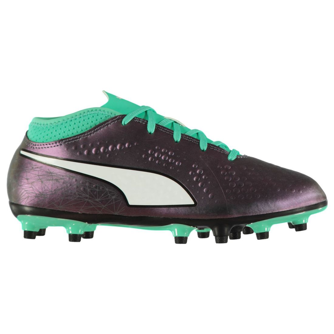 45fb1a76ded Details about Puma Kids Boys One 4 Junior FG Football Boots Firm Ground  Lace Up Studs