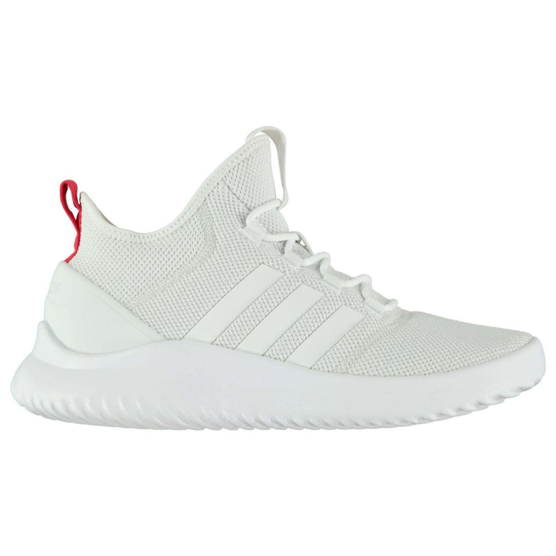 new concept 4dd56 e3bc5 Details about adidas Cloudfoam Ultimate B Ball Sneakers Mens Gents Runners  Laces Fastened Knit